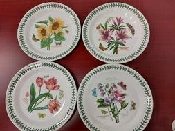 Portmeirion botanic garden set of 4 assorted dinner plates
