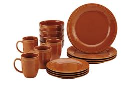 Rachael Ray 55095 Cucina Dinnerware 16-Piece Stoneware Dinne