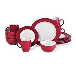 Pfaltzgaff Harmony 16-piece Red Dinnerware Set