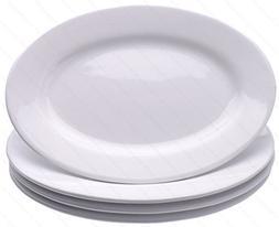 Restaurant Commercial Graded Ceramic Oval Serving Dinner pla