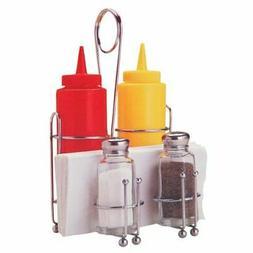 Restaurant Condiment Rack Tabletop Set Diner And Kitchen Ser
