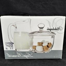Luigi Bormioli RM109 Michelangelo Sugar and Creamer Set