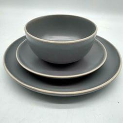 Gibson Home Rockaway 12-Piece Dinnerware Set Service for 4,