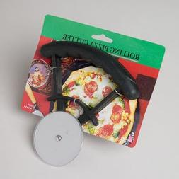 Rolling Pizza Cutter with Black Handle Case Pack 72 Home Kit