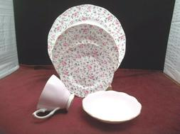 Royal Albert Rose Confetti 5 Piece Place Setting
