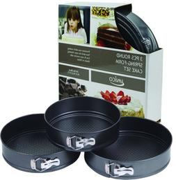 3 Piece Round Springform Pan Set Case Pack 12 Home Kitchen F