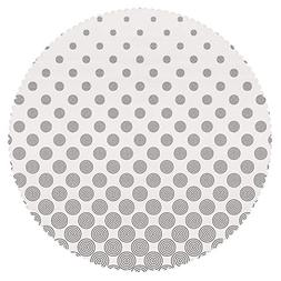 iPrint Round Tablecloth  Fabric Home Decor Set