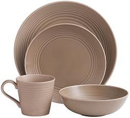 Gordon Ramsay Royal Doulton Maze 4-Piece Dinnerware Set, Tau