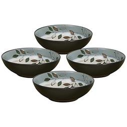Pfaltzgraff Rustic Leaves Set of 4 Individual Pasta Bowls