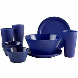 RV Dinnerware Set Dorm Room Dishes Apartment for Kids Campin