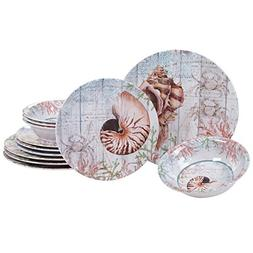 Certified International Sanibel Melamine 12 pc Dinnerware Se