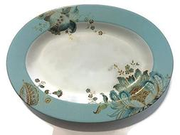 222 Fifth Eliza Spring Turquoise Serving Platter - Approx 14