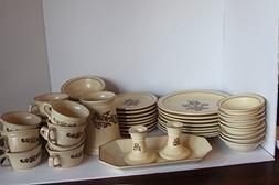 Pfaltzgraff Village Set/52 serves 8 Dinnerware ~Dinner Plate
