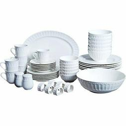 Gibson Home Regalia 46-Piece Dinnerware and Serveware Set, S