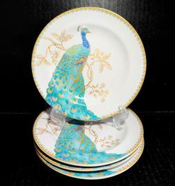 set of 4 china peacock garden 6