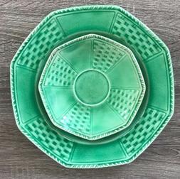 Set Of Thompson Pottery Vintage Heirloom Jade Dishes Liverpo