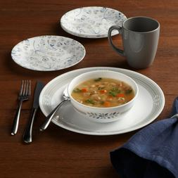 Corelle Signature Praire Gray Set 16pc Dinnerware Set