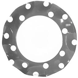 Sophistiplate Silver Dot Paper Party Pack for 10 guests incl