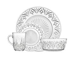 Godinger Dublin Dinnerware Set - Includes Dinner Plates, Des