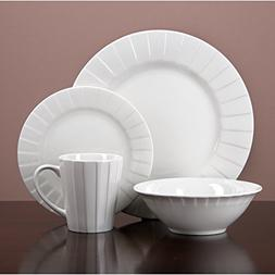 Simple Decorative Porcelain Dinnerware 32 Piece Kitchen Set,