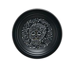 "Fiesta Skull and Vine 9"" Luncheon Plate"