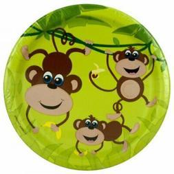 Small Monkeys Party Plates Set