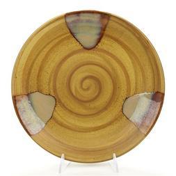 Splash Brown by Sango, Stoneware Dinner Plate