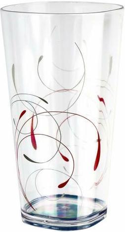 Corelle Coordinates Splendor Acrylic Glass, 19Ounce, Set of
