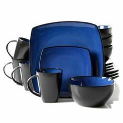 square dinnerware set dinner plates mugs dishes