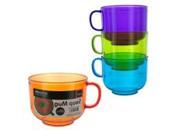 20-Ounce Stackable Soup Mug Home Kitchen Furniture Decor