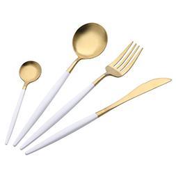 4PCS Stainless Steel Cutlery Longay Dinnerware Flatware Fork