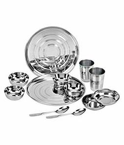 ROYAL SAPPHIRE Stainless Steel Dinnerware Set 12 Pieces