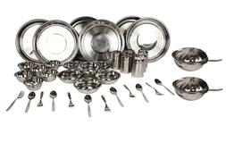 ROYAL SAPPHIRE Stainless Steel Dinnerware Set 40 Pieces(plat