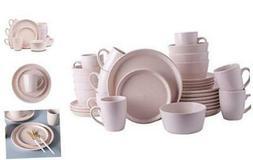 Stone Lain Coupe Stoneware Dinnerware Set, Service For Servi