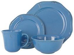 Melange Stoneware 16-Piece Dinnerware Set  | Service for 4|