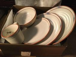 Noritake Stoneware 8675 Raindance Dinnerware Set - NEW