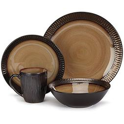 Cuisinart CDST1-S4G3 Stoneware Alba Collection 16-Piece Dinn