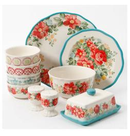 "The Pioneer Woman ""Vintage Floral"" Stoneware Dinnerware Set"