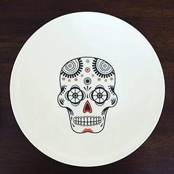 Sugar Skull Plates, Halloween Plates, Halloween Decor, Potte