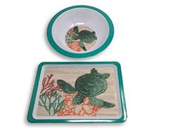 Summer Designs Melamine Serving Plates, Trays, Bowls - Flora
