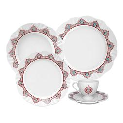 Oxford 20 Piece Talisman Collection Soleil Dinnerware Set