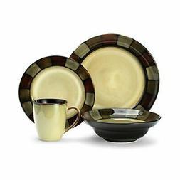 Pfaltzgraff Taos 16-Piece Stoneware Dinnerware Set, Service