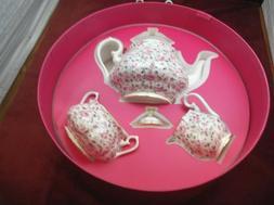 Rose Confetti 3 Piece Tea Set