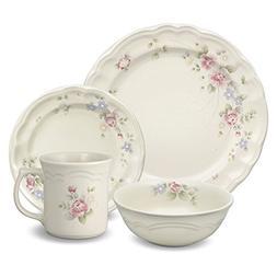 Pfaltzgraff Tea Rose 32 Piece Dinnerware Set