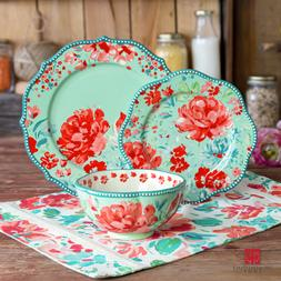 The Pioneer Woman Dinnerware Set Gorgeous Garden Durable Sto