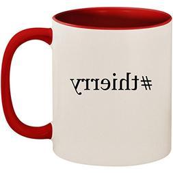 #thierry - 11oz Ceramic Colored Inside and Handle Coffee Mug