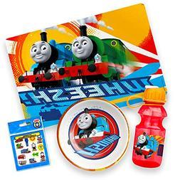 Thomas the Train Toddler Dining Set - Placemat, Bowl, Water
