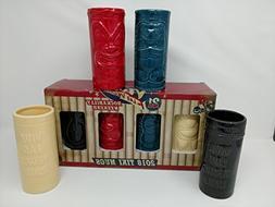 Viva Las Vegas Tiki Mug Set