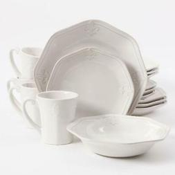 Better Homes & Gardens Country Crest Dinnerware, Set Of 16