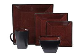 Oneida Tremiti 20-Piece Reactive Glaze Stoneware Dinnerware